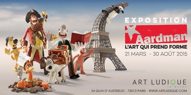 Exposition Aardman, Musée Art Ludique