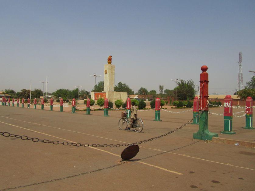 Place de la Révolution, Ouagadougou, Burkina-Faso.
