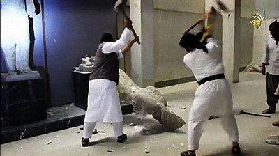 Destructions musée Mossoul