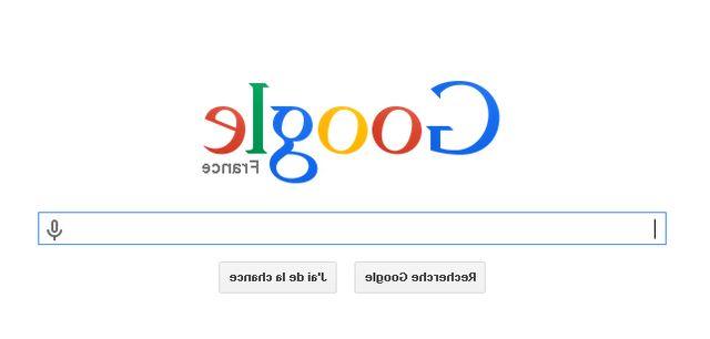 1e avril de Google