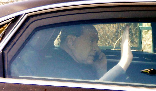 Silvio Berlusconi il y a quelques semaines