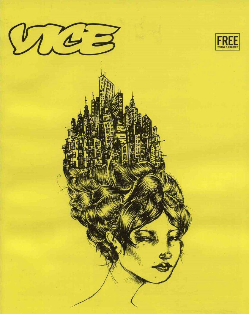 Couverture du Magazine Vice (US)