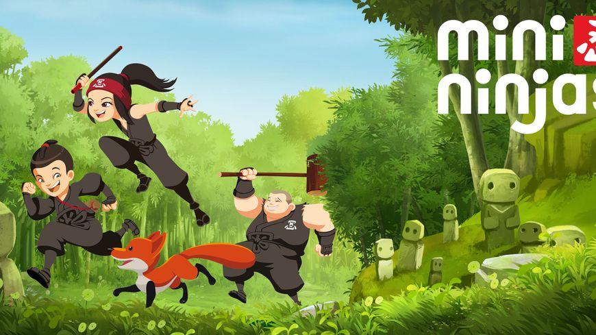 Dessin animé ninja