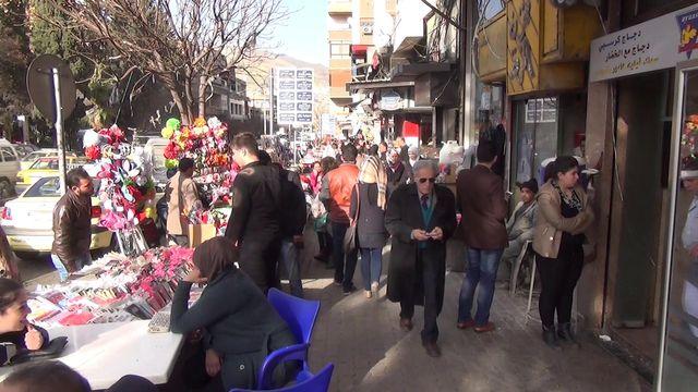 Damas, une ville étouffée par la guerre