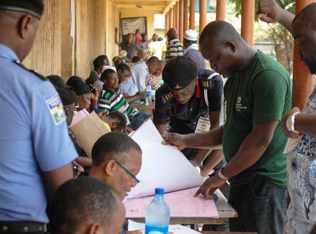 Elections présidentielles et législatives au Nigéria