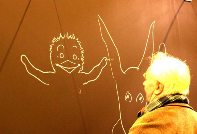Claude Ponti au Salon du livre 1