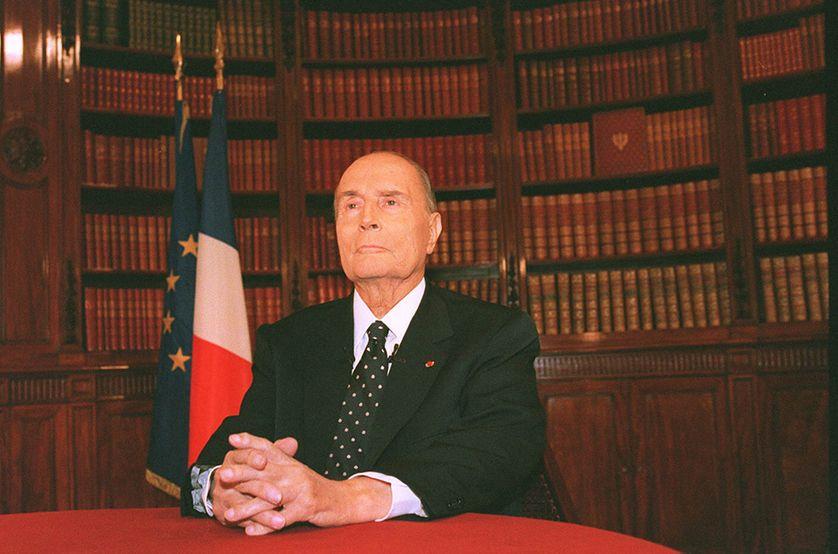 François Mitterrand en septembre 1994