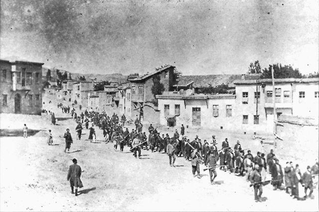 Genocide arménien - convoi Mezre/konak