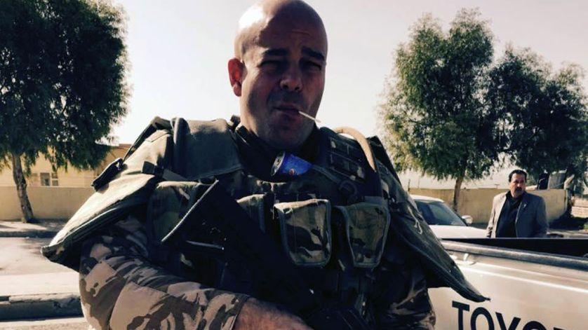 Tim Locks, ressortissant britannique qui a pris les armes pour combattre l'Etat islamique