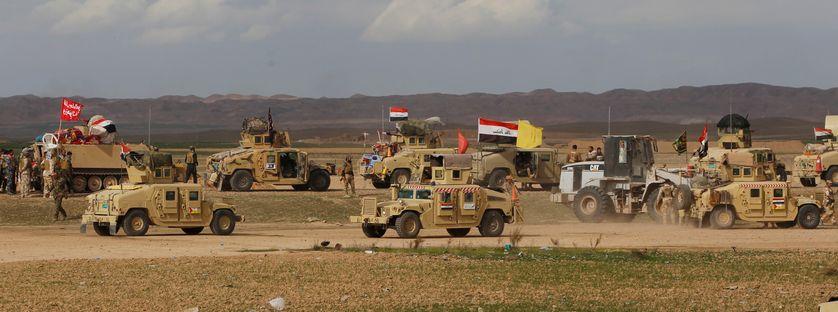 Forces pro-gouvernmentales irakiennes et milices chiites.