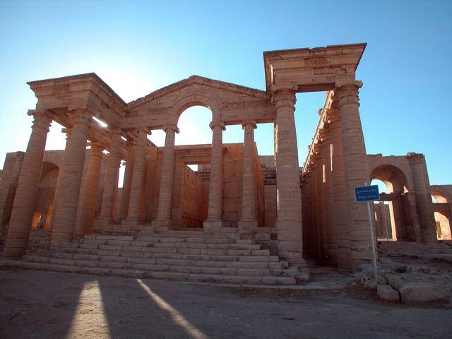 Irak, 2002, site de Hatra