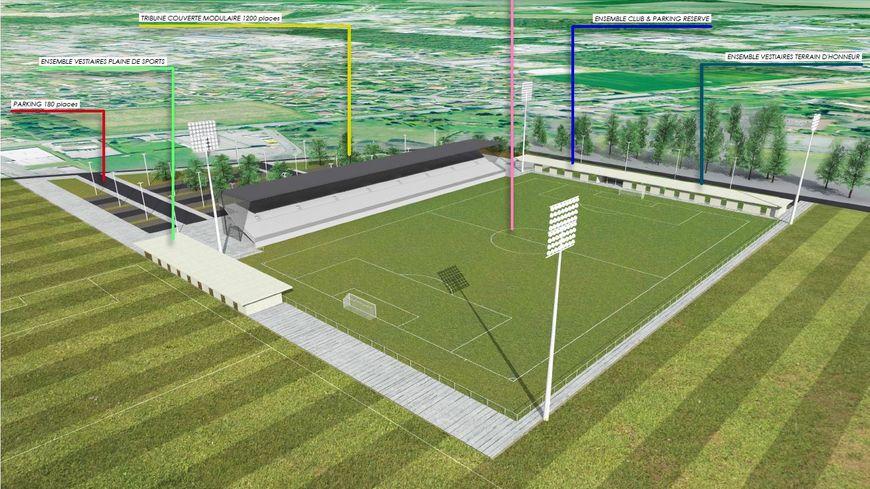 le nouveau stade du pau fc sera construit sur la plaine du hameau