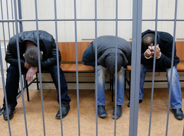 amerlan Eskerkhanov, Shagid Gubashev et Ramzan Bakhayev