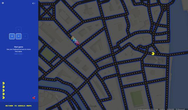 Jouez à Pac man sur google, c'est désormais possible