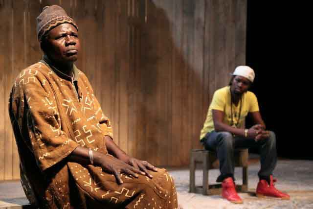 La troupe de théâtre Blonba