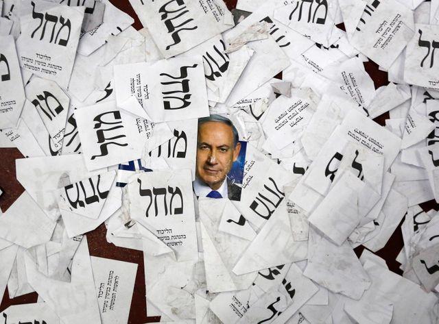Législatives israéliennes : Netanyahu en tête