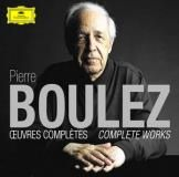 """Coffret 13CD """" Pierre Boulez : Oeuvres complètes """" label Deutsche Grammophon DGG 4806833"""