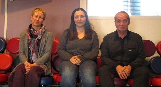 Céline Walkowiak, Fatima Rahmoun, Roland Hubert
