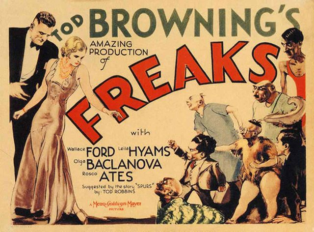 "Affiche de ""Freaks"" de Tod Browning"