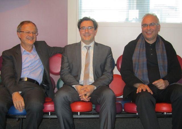 Eric Giuily, Olivier Rouquan, Daniel Béhar