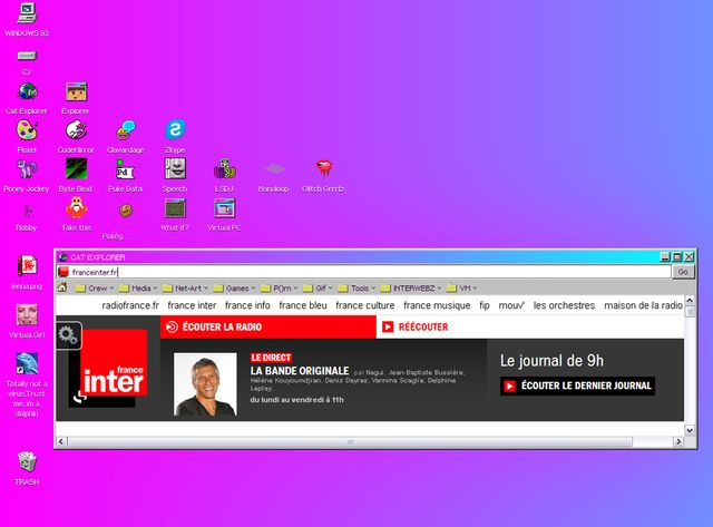 Windows 93 fait mal aux yeux, mais c'est pour la bonne cause