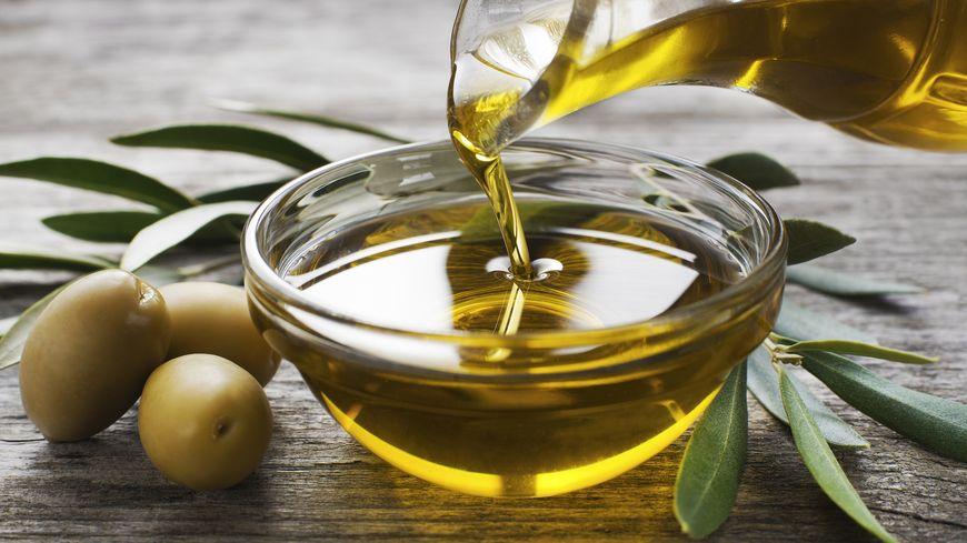Huile d'olive illustration