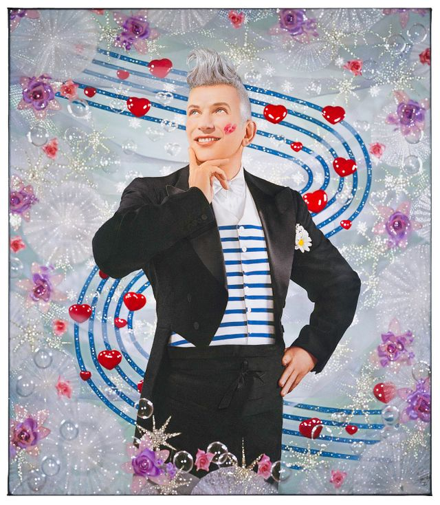 Affiche de l'exposition Jean-Paul Gaultier au Grand Palais