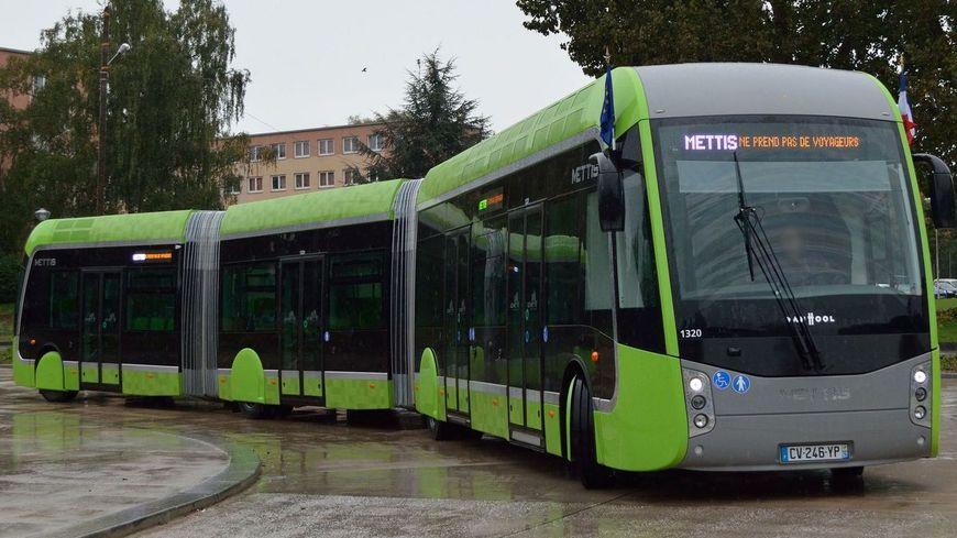 Le tram'Bus est déjà en service à Metz : il s'appelle le Mettis
