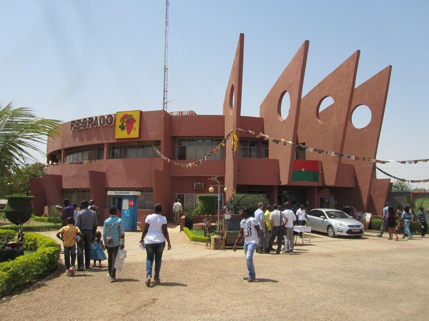 Le siège du FESPACO, Ouagadougou, Burkina-Faso.