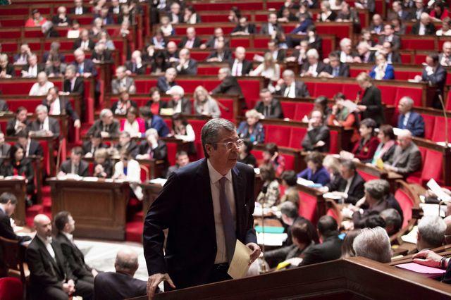 Patrick Balkany à l'Assemblée nationale