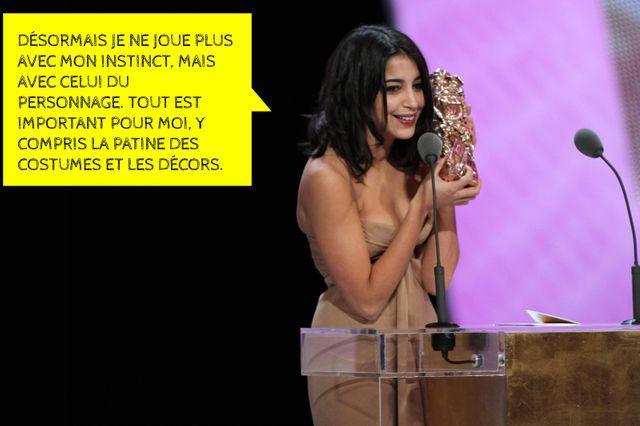 Leïla Bekhti, meilleur espoir féminin aux Césars 2011
