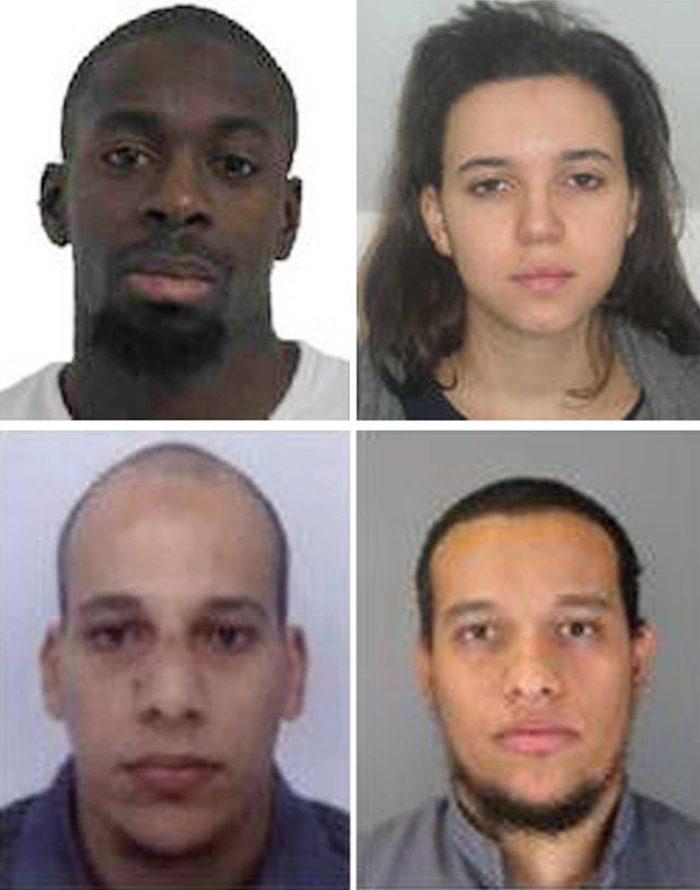 Charlie Hebdo/Hypercasher : les suspects