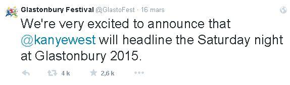 tweet Glastonbury