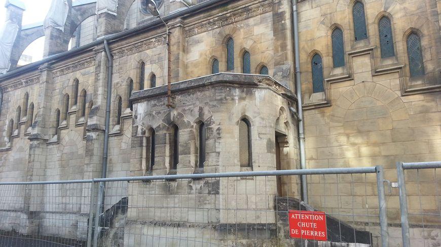 L'église Notre Dame des Anges à Belfort