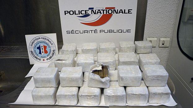 Pour la BAC d'Avignon, c'est l'une des plus importatntes saisies de drogue.
