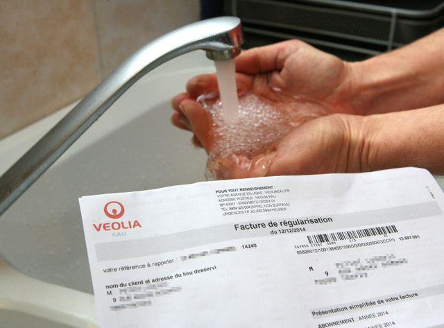 Des coupures d'eau seulement pour les ménages précaires