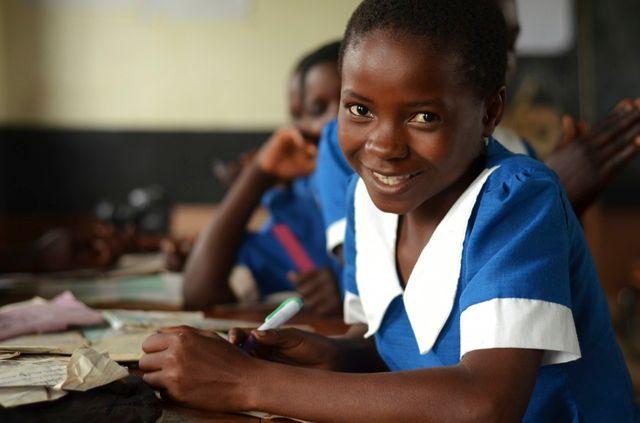 Malawi , Lilongwe , école primaire.