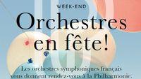 Journée spéciale Orchestres en fête ! en direct de la Philharmonie de Paris le 28 mars 2015