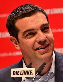 portrait Alexis Tsipras