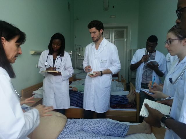 Etudiants français en médecine à Cluj