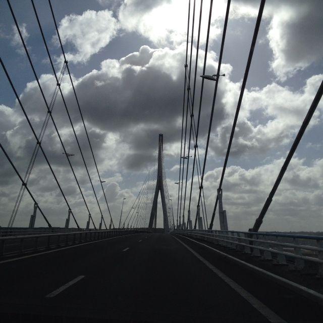 Sur le Pont de Normandie - 20 ans cette année