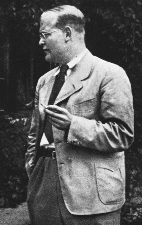 Dietrich Bonhoeffer, pasteur luthérine et résistant au nazisme, en 1939