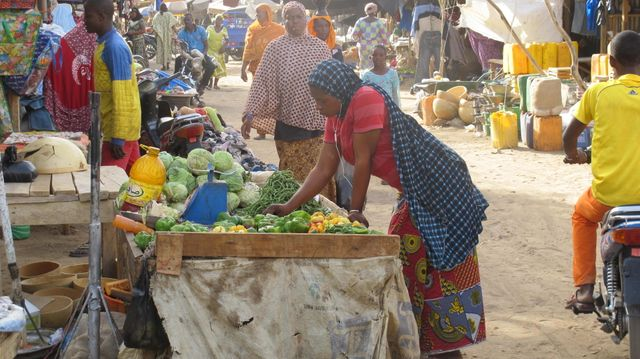Marché à Gao, Mali