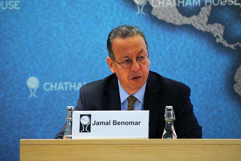 Jamal Benomar, le médiateur de l'ONU au Yémen, qui a démissionné depuis le 15 avril 2015