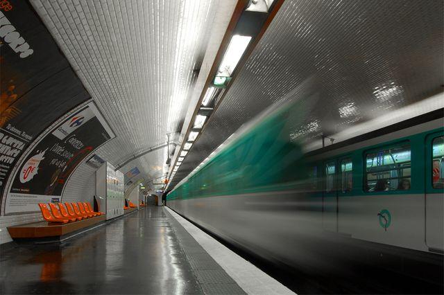 une station du métro parisien