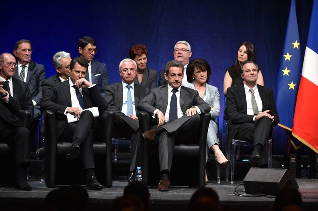 Meeting UMP à Nice
