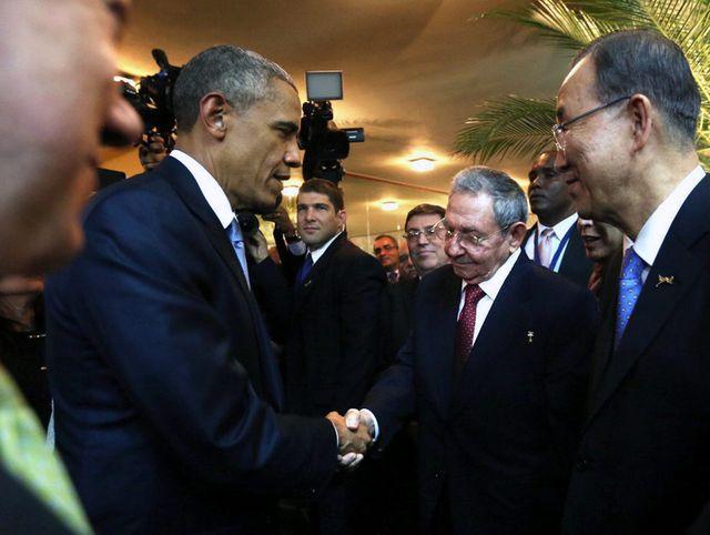 Les deux chefs d'État se sont rencontrés au Panama