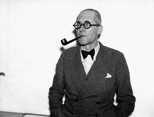 L'architecte Le Corbusier (ca 1938)