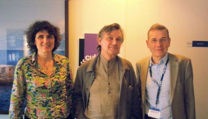 Valérie Peugeot, François-Bernard Huyghe et Antoine Garapon