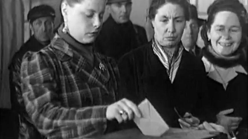 En 1945, les femmes votaient pour la première fois.